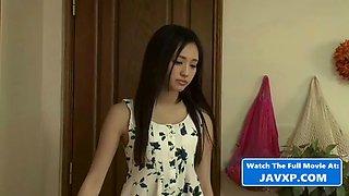 Hot asian teen seducing stepbro