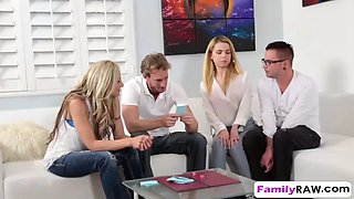 alina west and hot stepmom fucking together in foursome