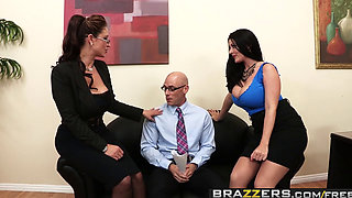 Brazzers   Big Tits at Work   Eva Notty Sophie Dee Johnny Sins   Acing the Interview
