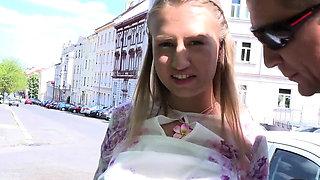 Attractive sweetheart Milana C adores erected boner