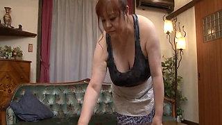 Japanese Bbw Aunt Maid
