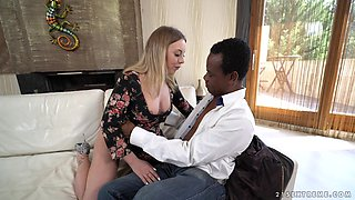 Big black cock fits perfectly in smoking hot Danielle Soul