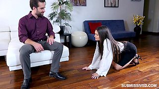 spanking for a disobedient hottie