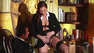 Secretary Gets Fuck By His Boss Bigcock