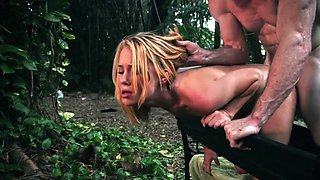 Piss punishment and bondage bitch slave Raylin Ann is a sexy