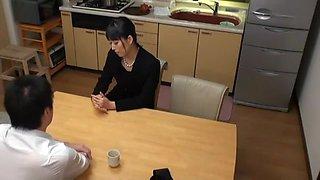 Best Japanese slut Sorami Haga in Horny MILFs, Kitchen JAV scene