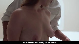 mormongirlz - romantic sex with his young new wife