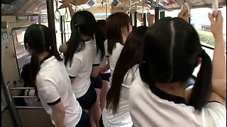 Japanese Shorts Group Bus