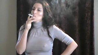 Exotic amateur Brunette, Solo Girl porn clip