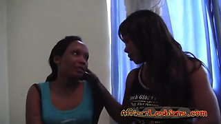 african lesbos lick and finger pussies in bedroom