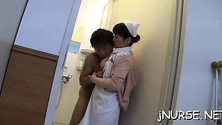 Powerful sex scenes with a nurse