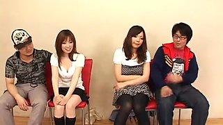 Exotic Japanese model Rara Kazami, Yui Komiya in Hottest JAV clip