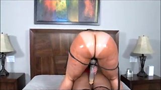 Big booty ebony s have fun with together