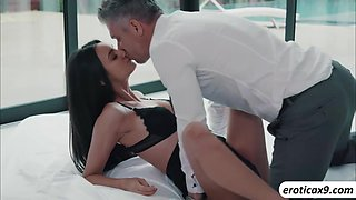 Eliza Ibarra gets naughty with her hunk boss