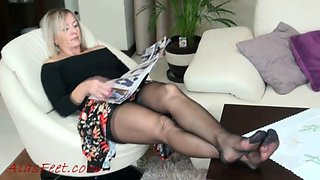 Godmother in pantyhose
