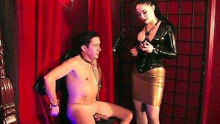 a very strict mistress