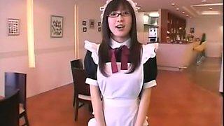 Fabulous Japanese model in Amazing Public, Maid JAV movie