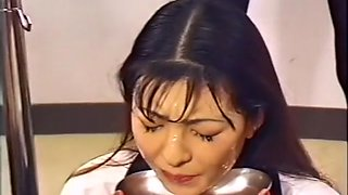 Adorable Asian girls taking huge loads of sperm on their lovely faces