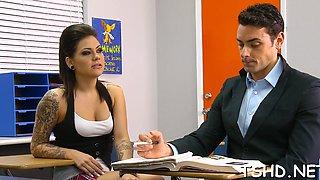 girl serves a mature cock segment video 2