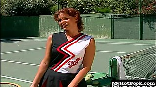 If you have never fucked a girl on a tennis court this scene