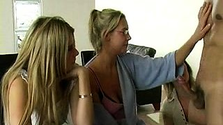 Amateur european party teens give blowjobs at cfnm orgy