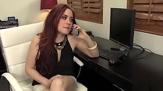 Jessica Ryan (Sexy Female Boss Finds Hard Cock In Her Lonely Office)