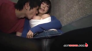 Drunk japanese girl found by a neighbor