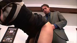 Secretary gets a lesson she will never forget