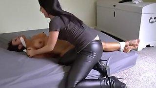 bound muscular woman
