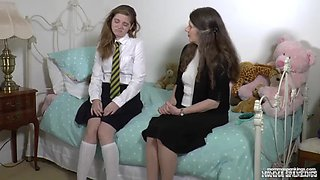 Misty&#39s after school spanking