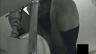 Young Japense Girl In Toilet Masturbation