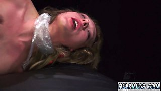 Extreme bondage squirt and dp Poor Callie Calypso