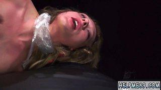 Extreme bondage squirt and dp Poor Callie Calypso