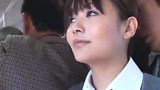 Hottest Japanese model Hina Umehara, Anna Mutsumi, Mizuki Akiyama in Crazy Public JAV video