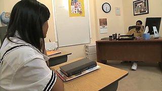Lana Violet tries her teachers BBC