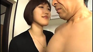 Japanese milf aoi aoyama gives a great car blowjob