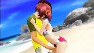anime beach of sex a teen masturbation