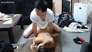 Couple korean make love homemade
