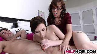 lewd mother daughter photoshoot fun movie
