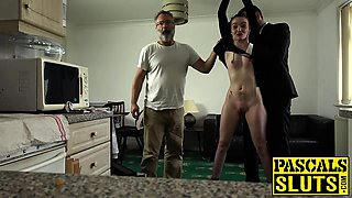 Dirty Maddison Rose punished hard with Pascals hard cock