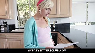 Horny & Cute Babysitter Fucked For A Raise