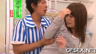punished by her coworker asian clip 2